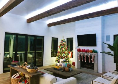 Automated fireplace
