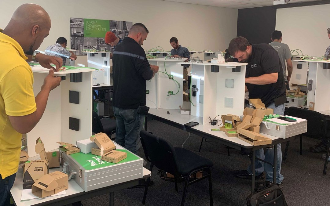 New hands-on training for smart home installation