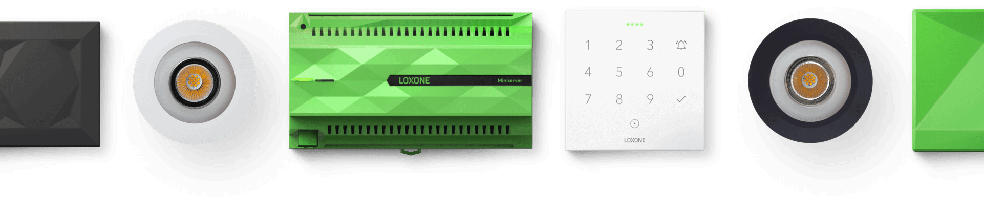 Banner of Loxone products