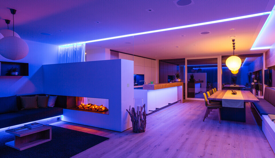 Ambient Lighting Utilize Led Lights To