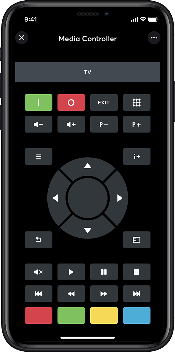 Media controller in the smart home app