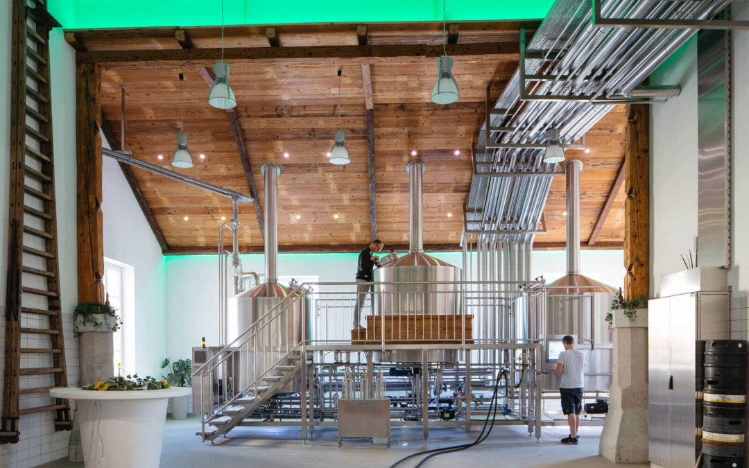 Smart brewery: Tradition brews with innovation