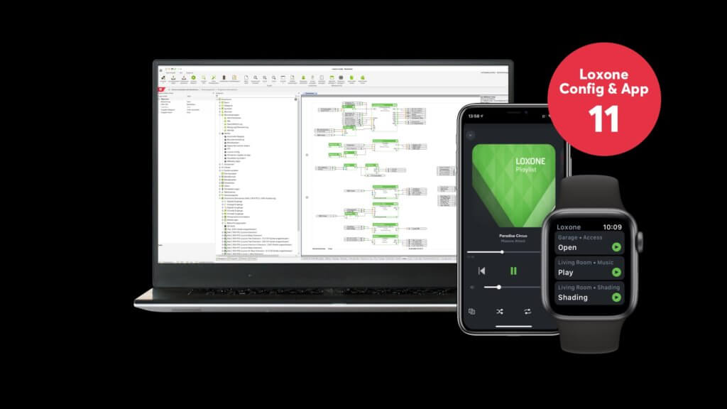 New: Loxone Config & App V11