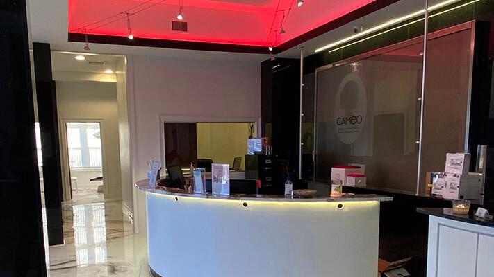 Lighting installation transforms doctor's office