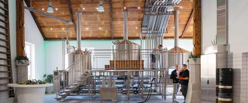 Automated brewery
