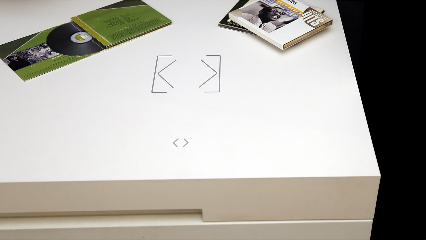 Table with built-in Touch Surface
