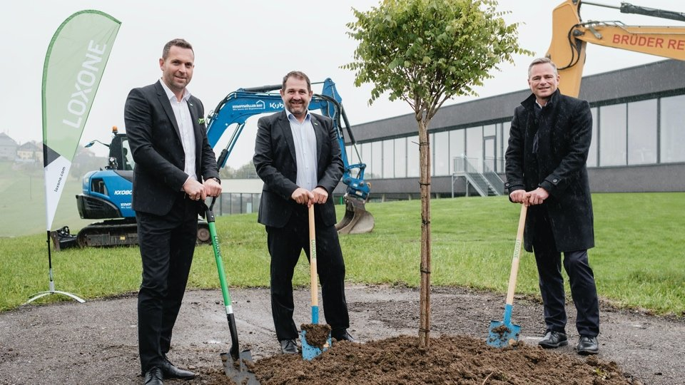 Breaking ground for Loxone Campus