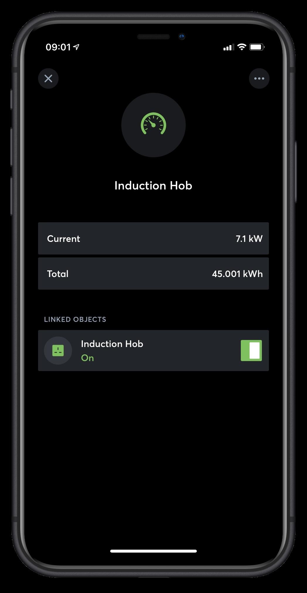Loxone App Object Linking