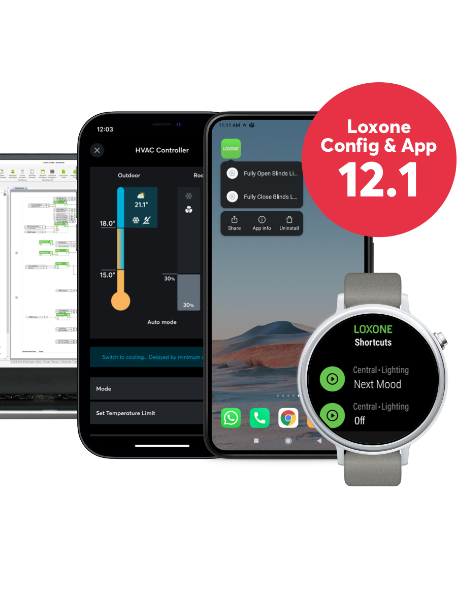 Smart devices for software 12.1