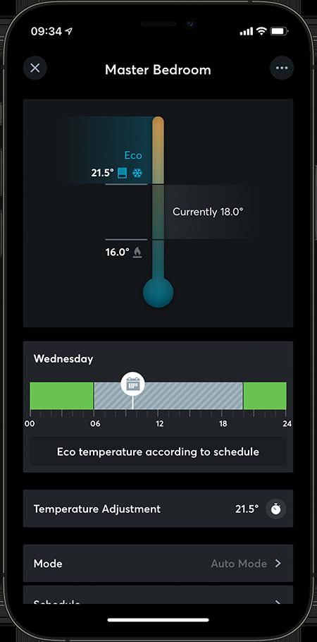 Loxone App Intelligent Room Controller
