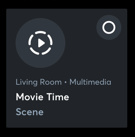Loxone App Movie Mode