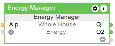 Function Block Energy Manager