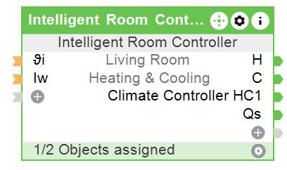 Function Block Intelligent Room Controller