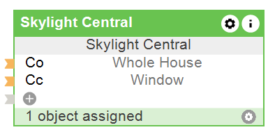 Function Block Skylight Central