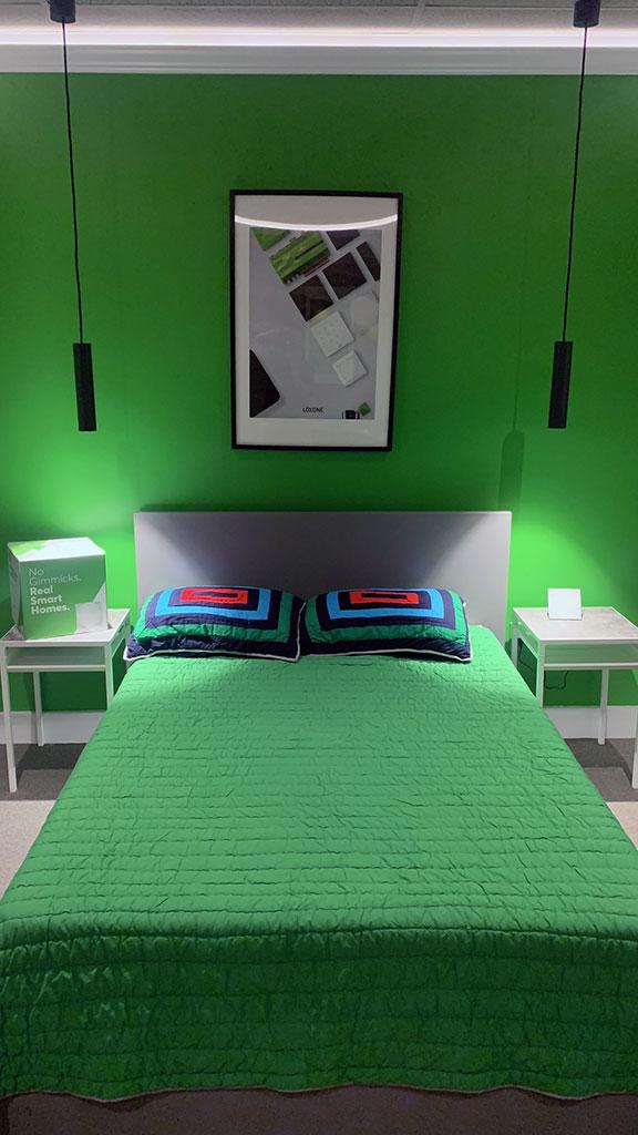 Showroom bedroom
