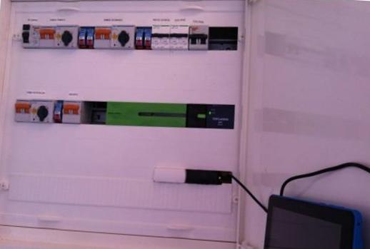 Control instalación solar térmica