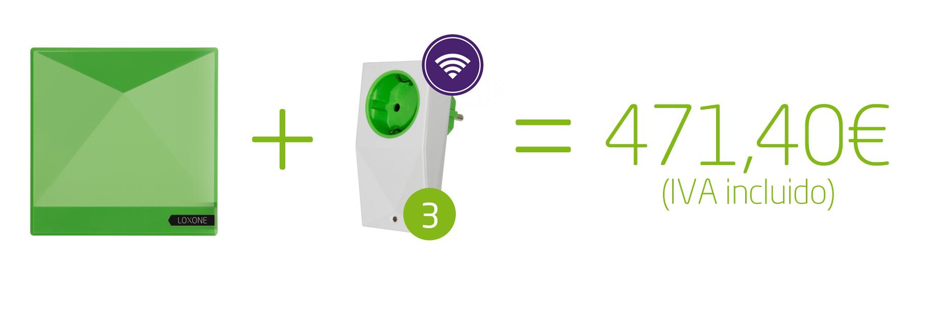 miniserver 3smart sockets