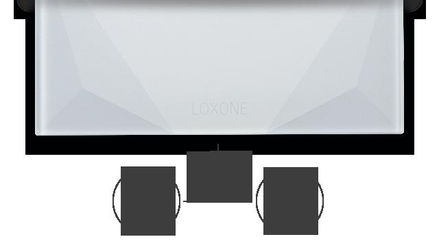 Loxone Touch pure Temperatur Feuchtefuehler