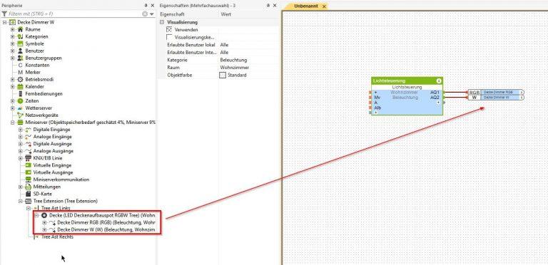 Inbetriebnahme-Aufbau-LED-Spot-RGBW-Tree_4-768x372