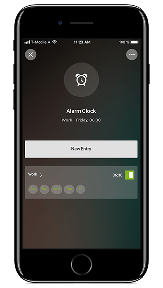 Smart Home App Despertador