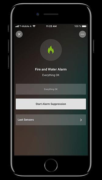 Smart Home App incendios