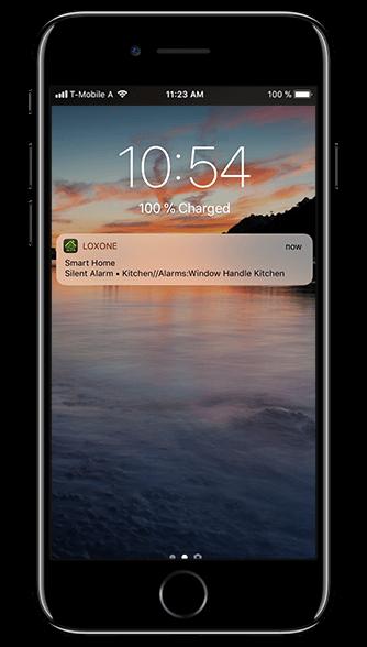 Smart Home App - Notificaciones push