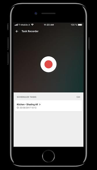 Smart Home App - Grabador tareas