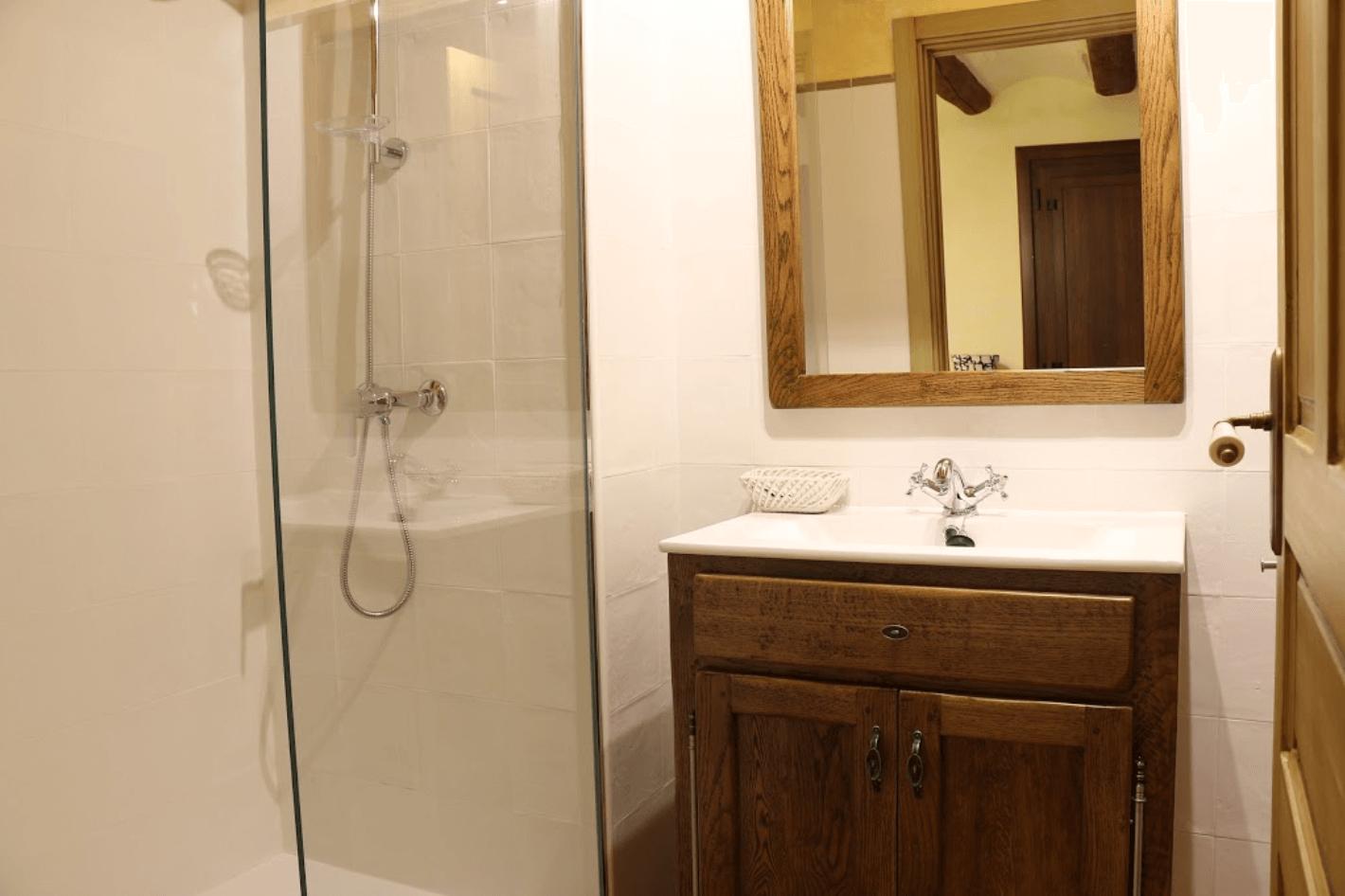 Bathroom in Casa Rural Navarra