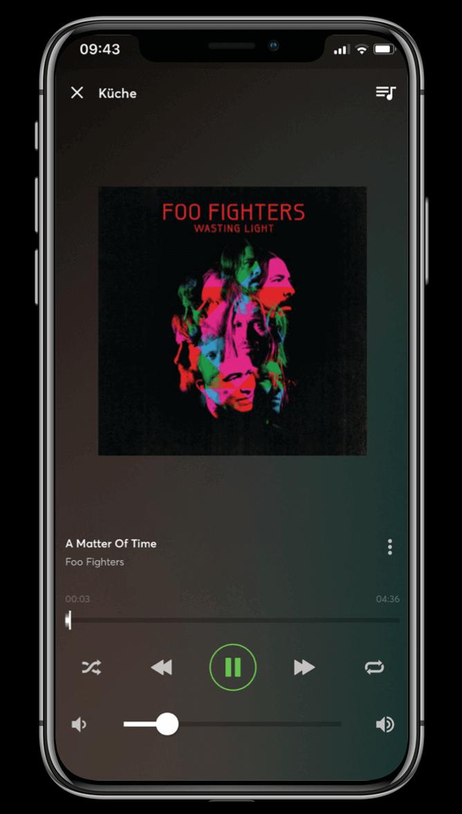 Smart Home App - Musik