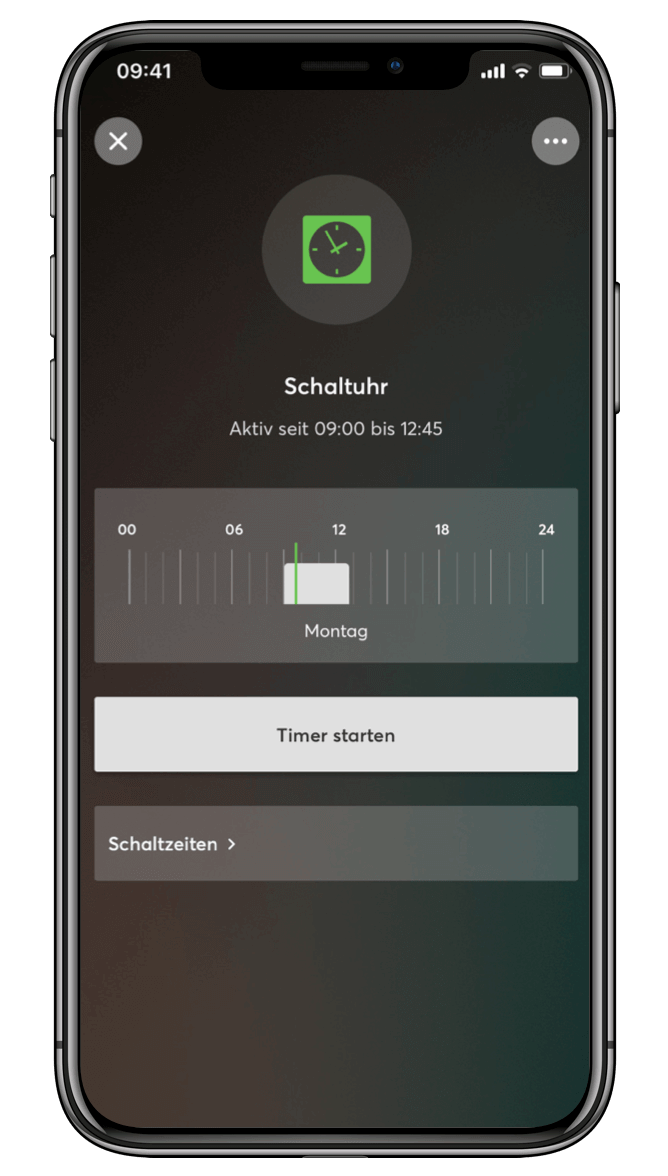 Smart Home App - Schaltuhr