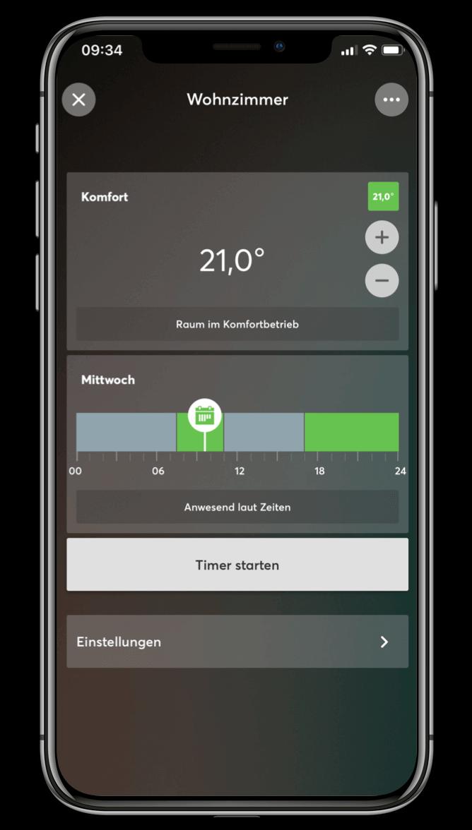 Smart Home App - Klima