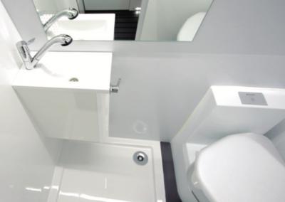 Interior baño Camperiz