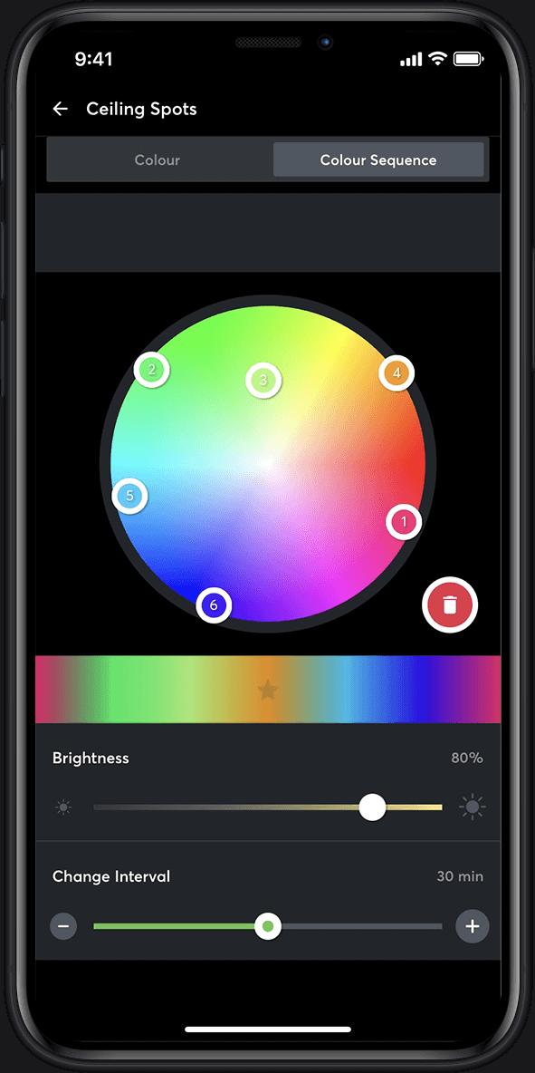 Ansicht Farbwechsler