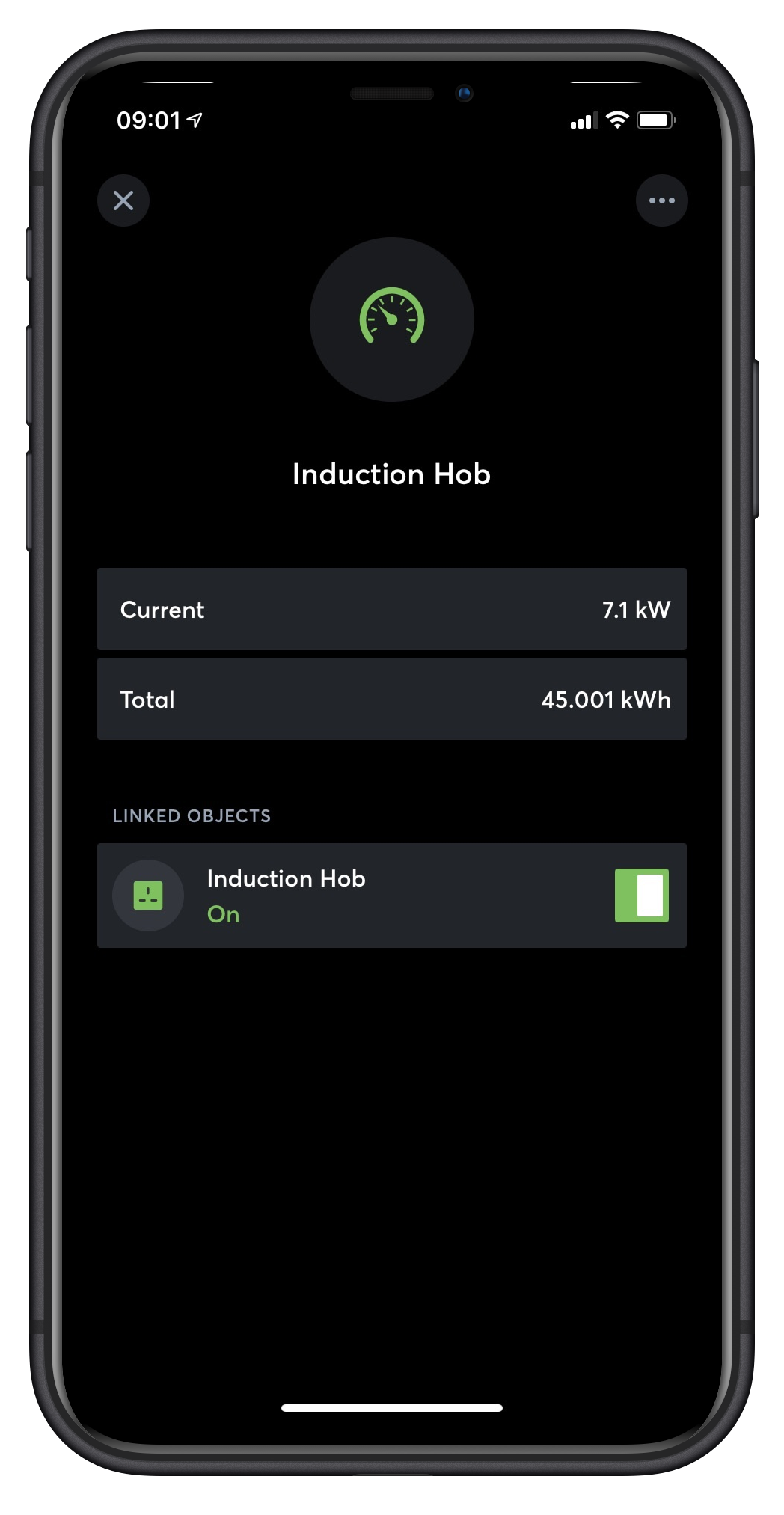 Loxone App Baustein Verlinkung