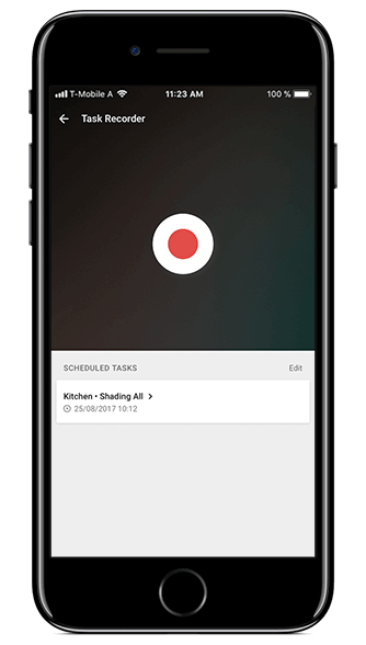 Smart Home App - Task Recorder