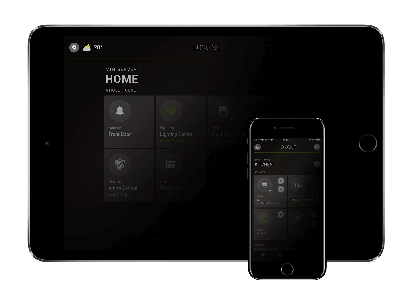 Loxone Smart Home App 9