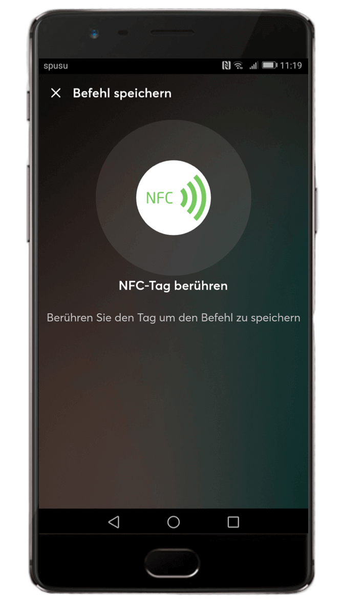 Smart Home App - NFC