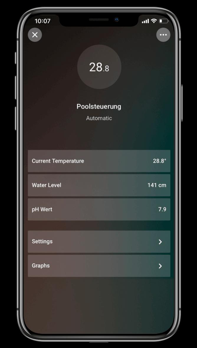 Smart Home App - Pool