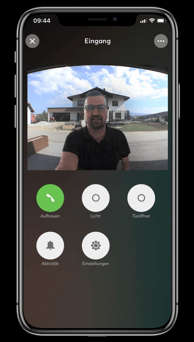 Smart Home App - Türsteuerung