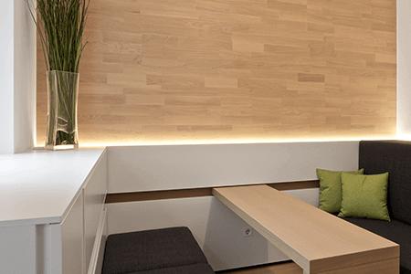 Mit dem Touch Pure lassen sich Lichtstimmungen einfach verändern oder ein- bzw. ausschalten.