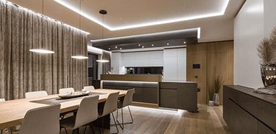 Preview Showcase Esszimmer - Lichtplanung im konventionellen Esszimmer