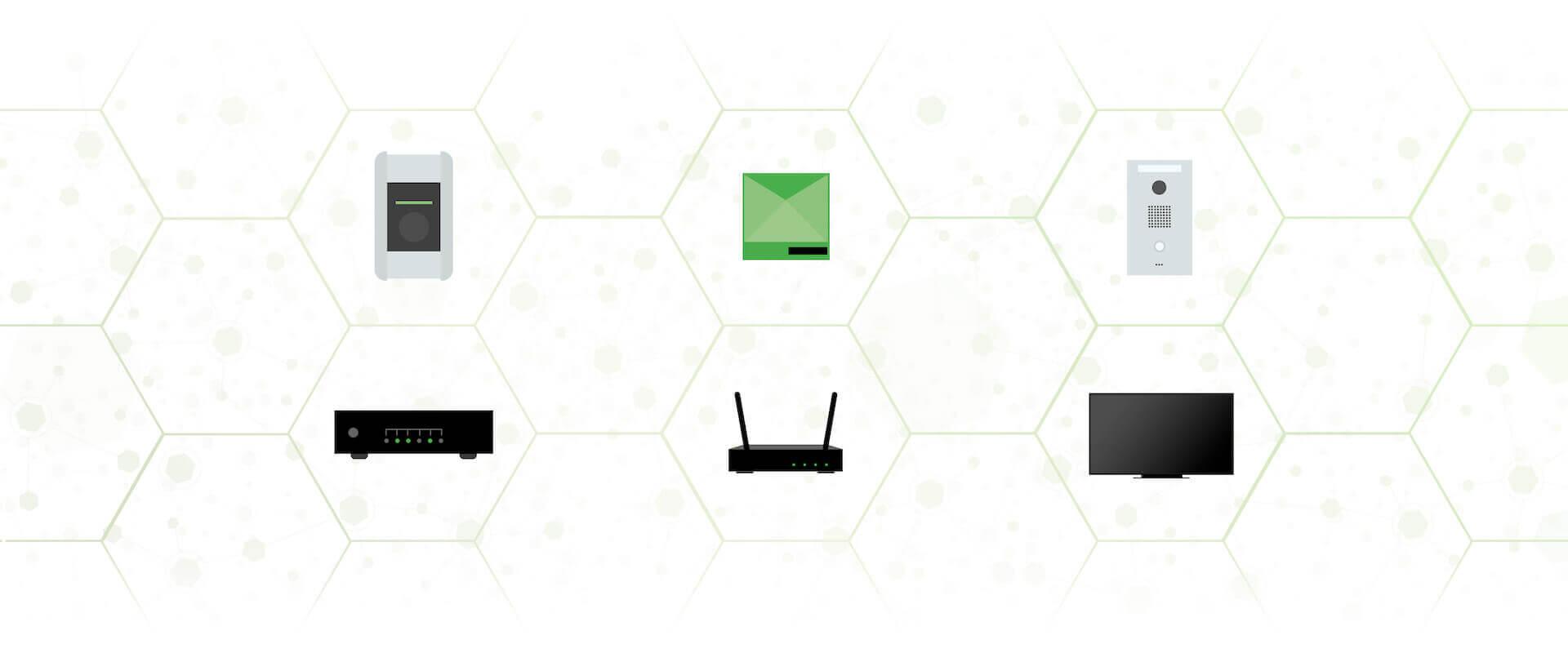 Smart Home Technologien - Collage