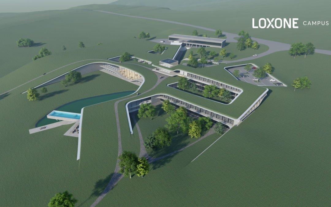 Annonce : 55 millions d'euros d'investissement pour la construction du nouveau campus Loxone