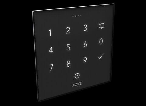 Der NFC Codetaster bietet dezente Hintergrundbeleuchtung