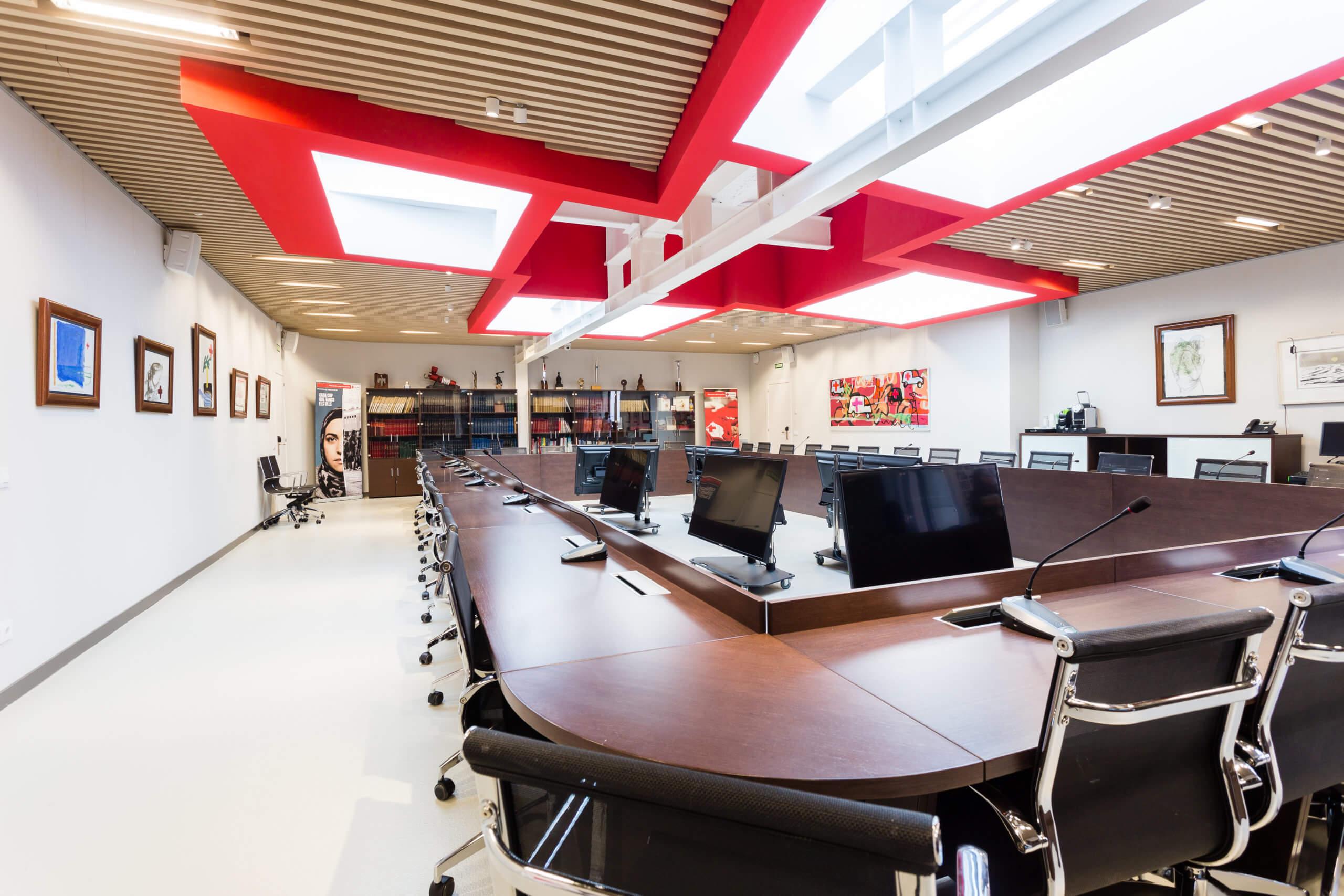 éclairage domotique bureaux