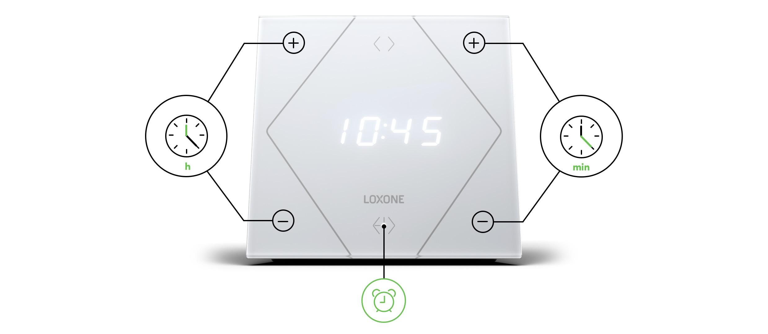 Touch Nighlight Loxone
