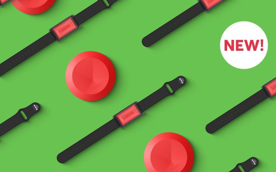 Nouveau : Bouton poussoir Air et bouton bracelet Air