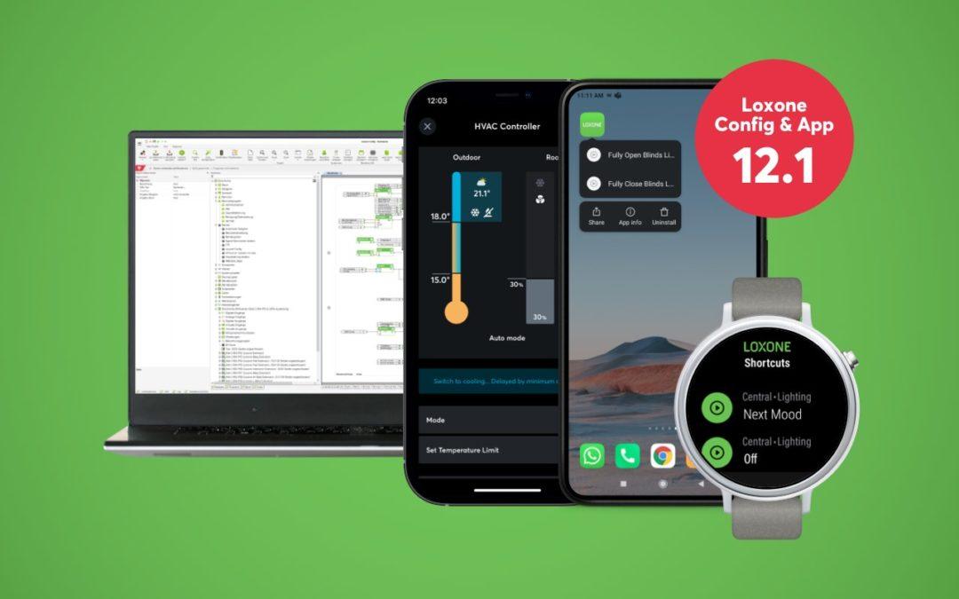 Nouveau : Loxone Config et App 12.1