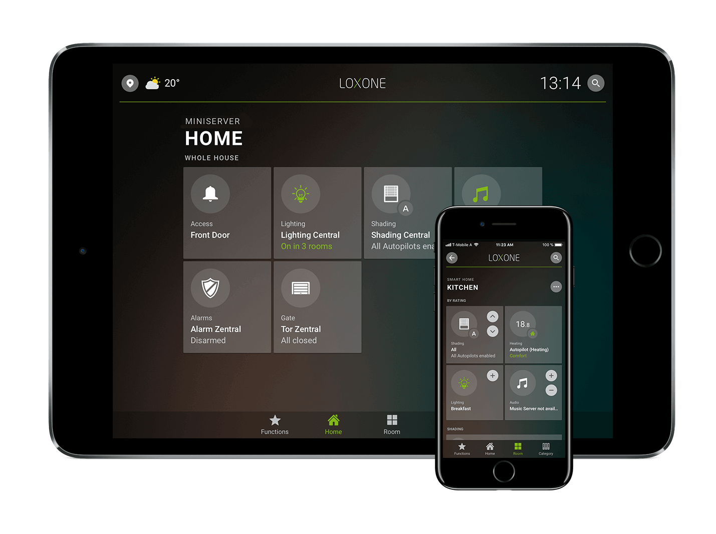 Loxone Smart Home App