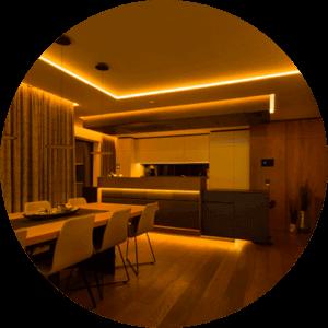 Lichtplanung - Hintergrundbeleuchtung